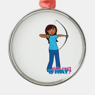 Archery Girl Christmas Tree Ornament