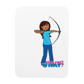 Archery Girl Flexible Magnet