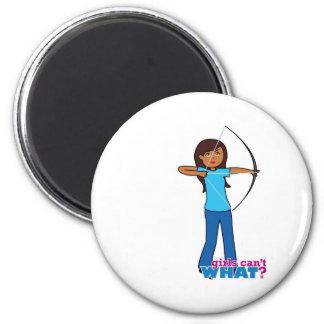 Archery Girl Refrigerator Magnet