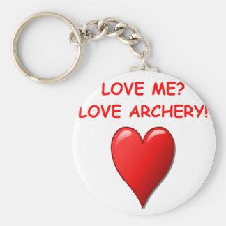 archery key chains