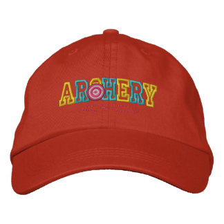 Archery Kid Embroidered Hat