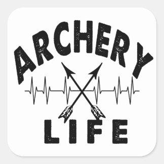 Archery Life Square Sticker