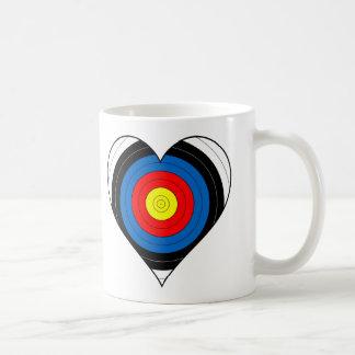 Archery Mug - Heart Target