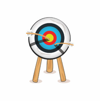 Archery Standing Photo Sculpture