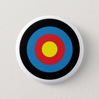 Archery Target Badge Pin Button