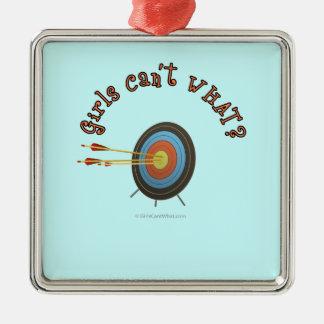 Archery Target Bullseye Ornaments