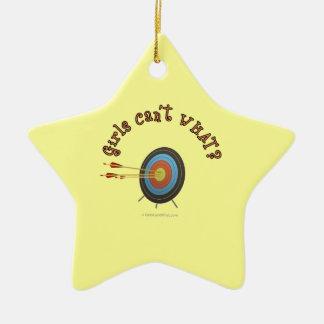 Archery Target Bullseye Christmas Tree Ornaments