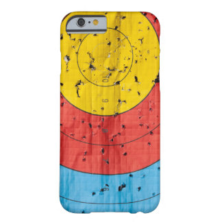 Archery target close up with many arrow holes barely there iPhone 6 case