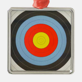 Archery Target Metal Ornament