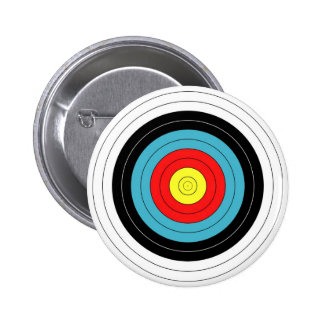 ARCHERY TARGET Pin / Button Badge