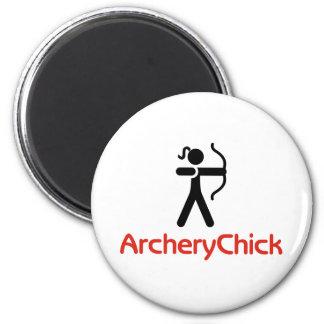 ArcheryChick Logo Magnet