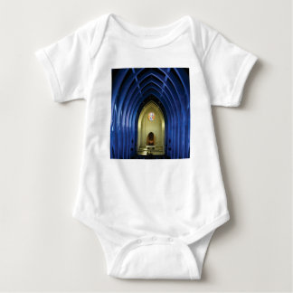 Arches in the blue church baby bodysuit