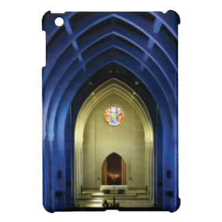 Arches in the blue church iPad mini covers