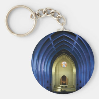 Arches in the blue church key ring
