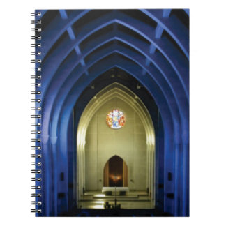 Arches in the blue church spiral notebook