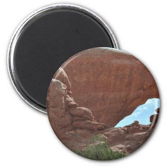 Arches National Park 6 Cm Round Magnet