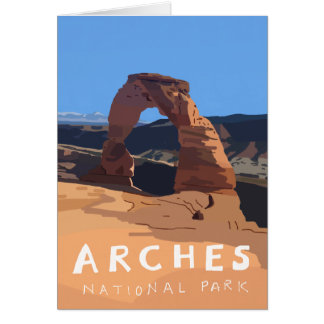 Arches National Park cards - Delicate Arch