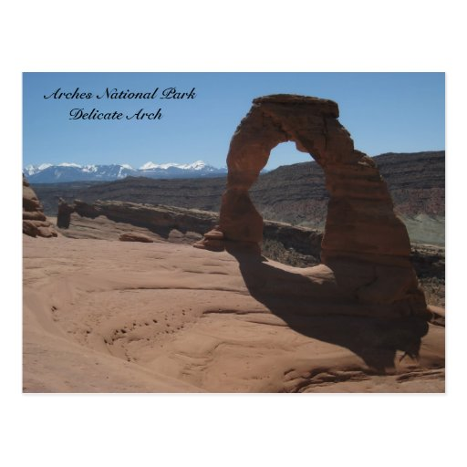 Arches National Park , Delicate Arch Postcards