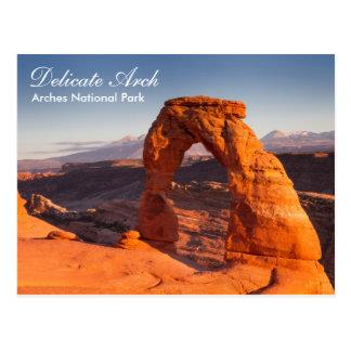 Arches National Park - Delicate Arch postcard
