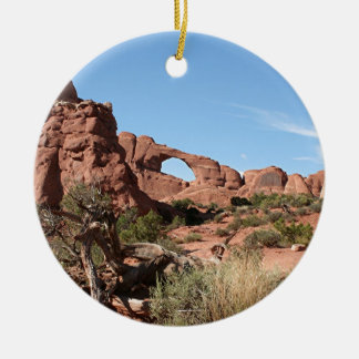 Arches National Park, near Moab, Utah, USA Ceramic Ornament