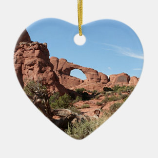 Arches National Park, near Moab, Utah, USA Ceramic Ornament
