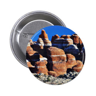 Arches National Park Red Rocks Pinback Button