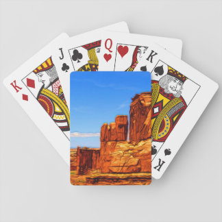 Arches National Park Rocks Playing Cards