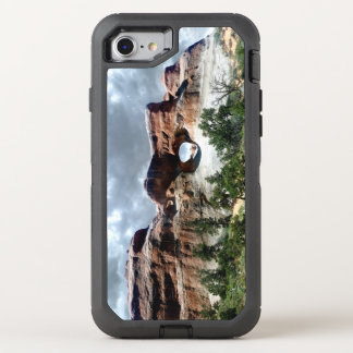 Arches National Park South window from the Back OtterBox Defender iPhone 8/7 Case