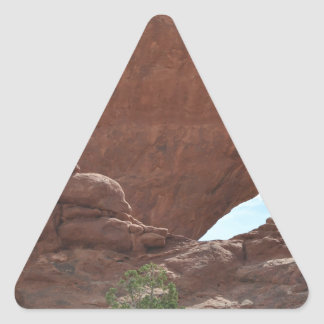 Arches National Park Triangle Sticker
