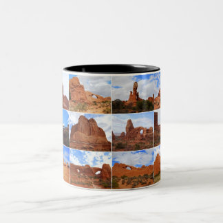 Arches National Park, Utah, Collage Mug