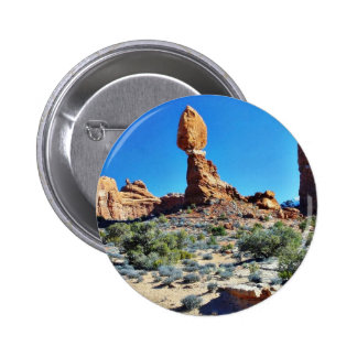 Arches National Parks Balancing Stones Balanced Pin