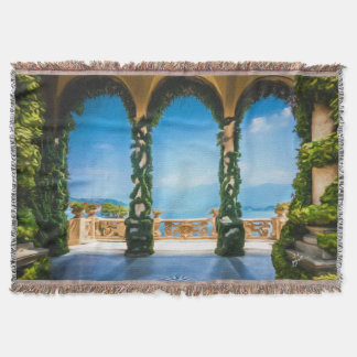 Arches of Italy Colorful Elegant Throw Blanket