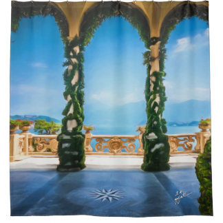 Arches of Italy Shower Curtain