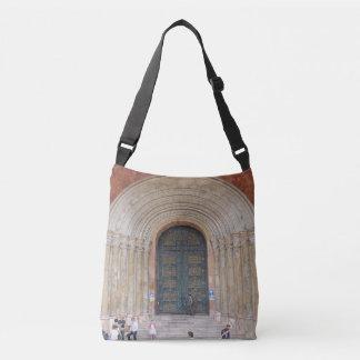 Arches of the Iglesia Cuenca Ecuador Crossbody Bag