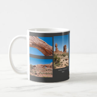 Arches Souvenir Photo Template Mug