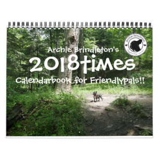 Archie Brindleton's 2018times Calendarbook!! Calendars