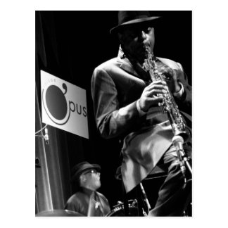 Archie Shepp 2 by P. Baud Banlieues Bleues 2010 Postcard