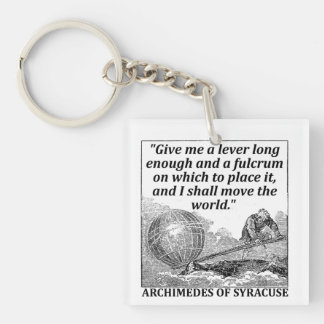 Archimedes Lever Key Ring
