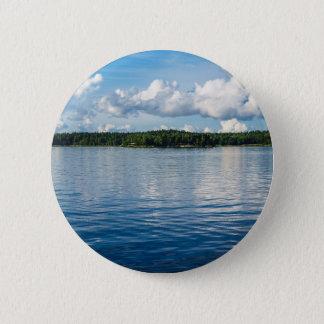 Archipelago on the Baltic Sea coast in Sweden 6 Cm Round Badge