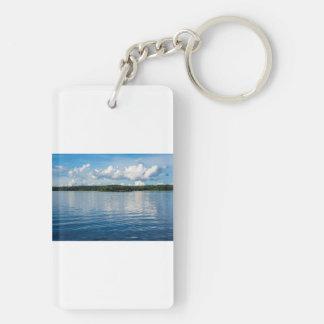 Archipelago on the Baltic Sea coast in Sweden Key Ring