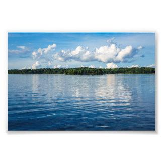 Archipelago on the Baltic Sea coast in Sweden Photo Print