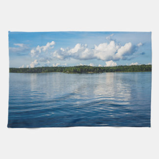 Archipelago on the Baltic Sea coast in Sweden Tea Towel