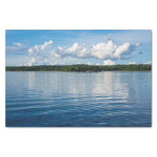 Archipelago on the Baltic Sea coast in Sweden Tissue Paper