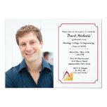 Architect and Engineering Photo Graduation Invites