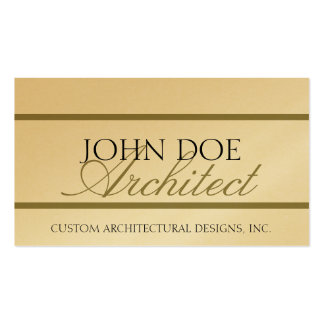 Architect Architecture Script - Avail Letterhead - Pack Of Standard Business Cards