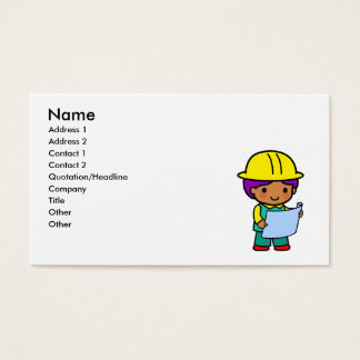 Architect Boy Business Card