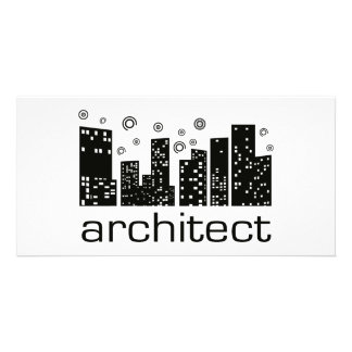 Architect Buildings Cool design! Customised Photo Card