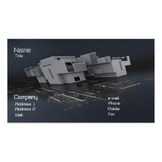 Architect Double-Sided Standard Business Cards (Pack Of 100)