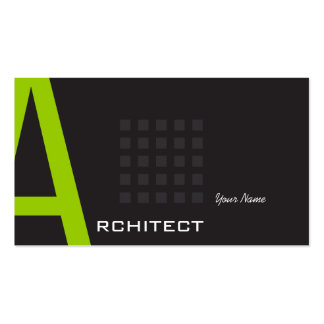 Architect Business Card Templates