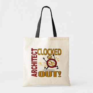 Architect Clocked Out Tote Bag